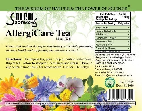 Anti-Allergy Blend 1.8oz (50gr) Herbal Teas