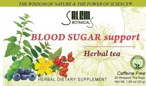 Blood Sugar Support Tea 1.06oz (30gr) Bagged Tea
