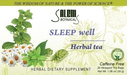 Sleep Well Tea 1.06oz (30gr) Bagged Tea