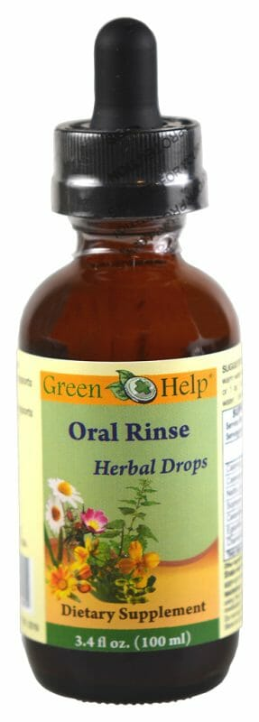 Herbal Oral Rinse Green Help
