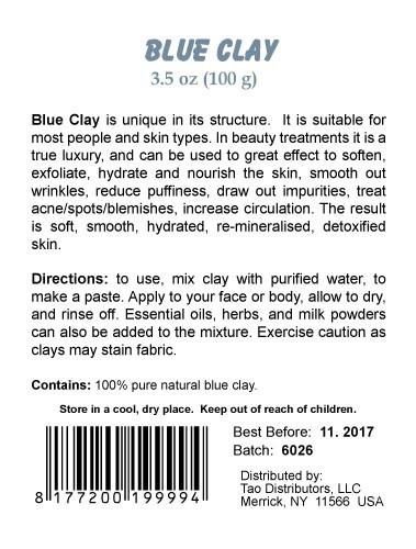 Clay Blue Skin Care