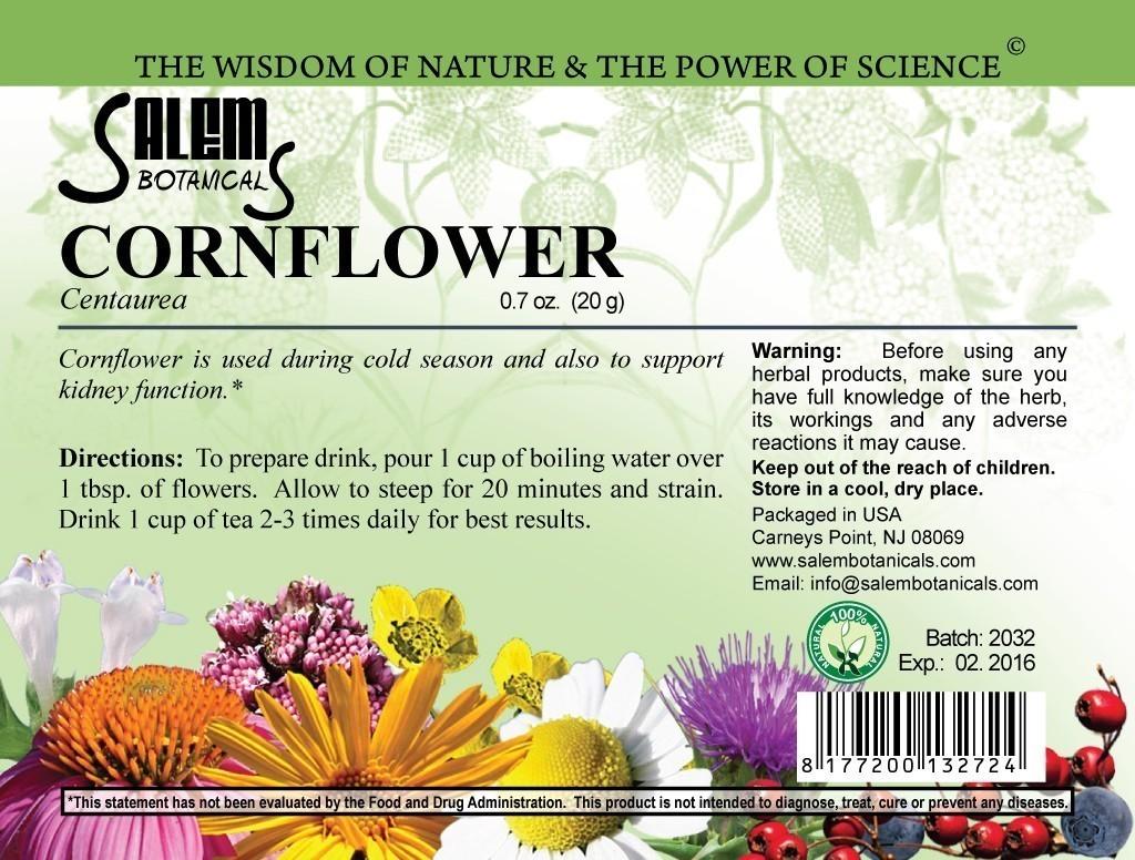 Cornflower 0.7oz (20gr) Dry Herbs, Berries and Fruits