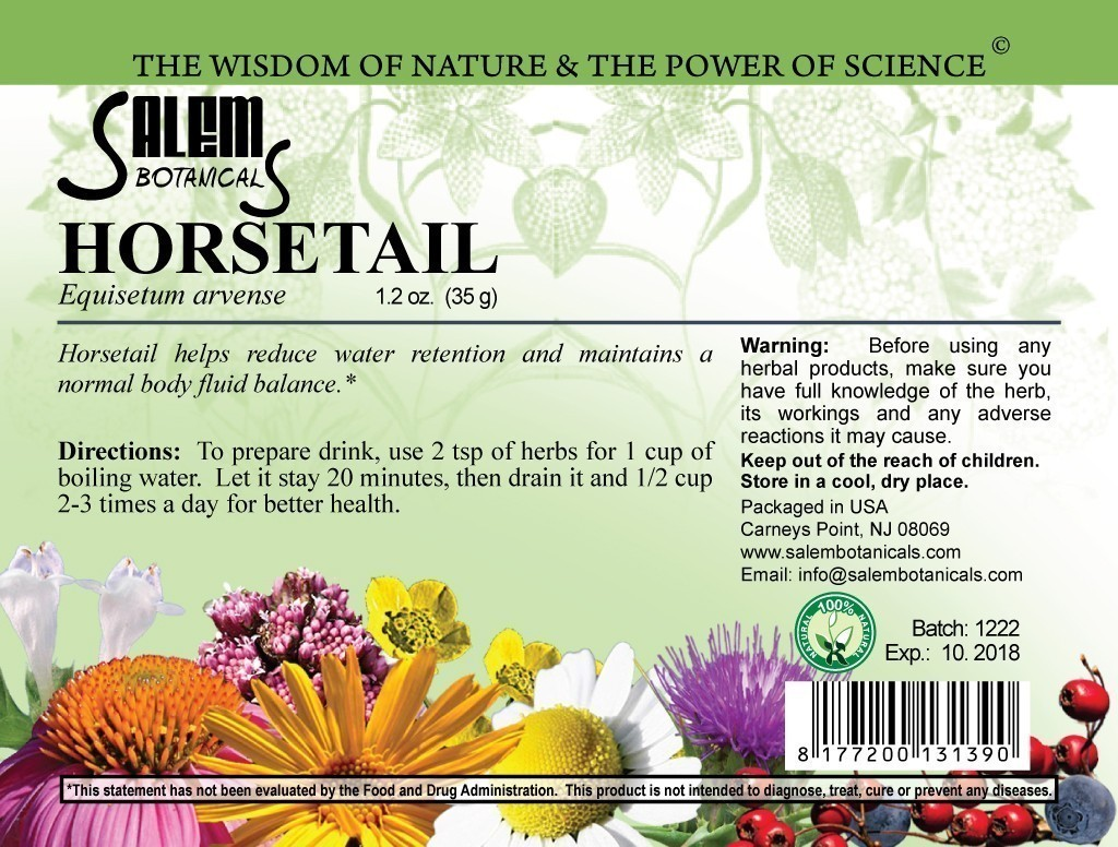 Horsetail 1.2oz (35gr) Dry Herbs, Berries and Fruits