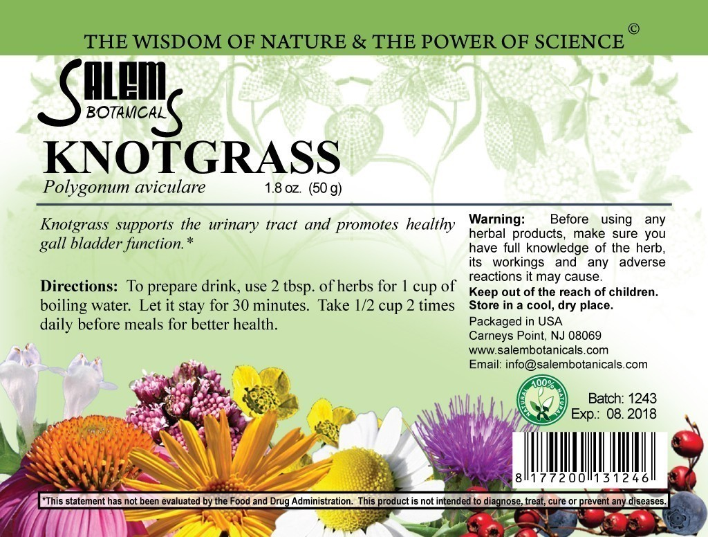 Knotgrass 1.8oz (50gr) Dry Herbs, Berries and Fruits