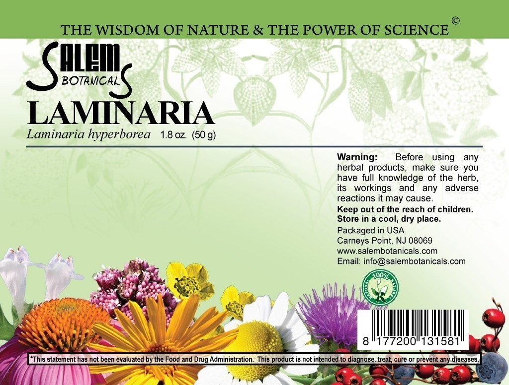 Laminaria 1.2oz (35gr) Dry Herbs, Berries and Fruits