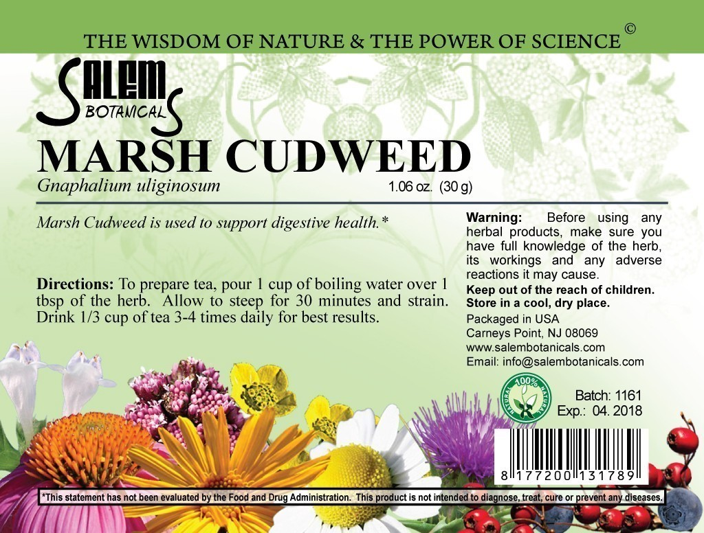 Marsh Cudweed 1oz (30gr) Dry Herbs, Berries and Fruits