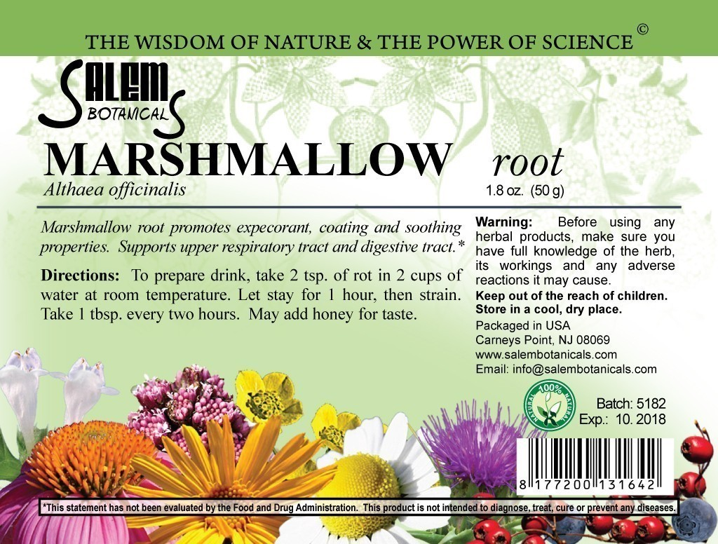 Marshmallow Root 1.8oz (50gr) Dry Herbs, Berries and Fruits