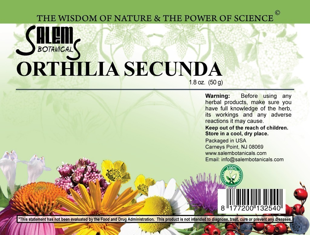 Ortilia Secunda 1.8 oz (50gr) Dry Herbs, Berries and Fruits