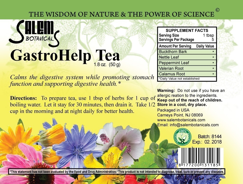 Stomach Blend 1.8oz (50gr) Herbal Teas