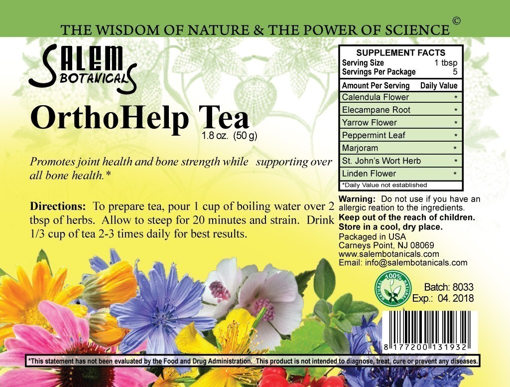 OrthoHelp Blend 1.8oz (50gr) Loose Tea