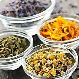 Dry Herbs, Berries and Fruits