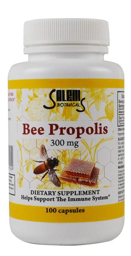 Bee Propolis Capsules Dietary Supplements