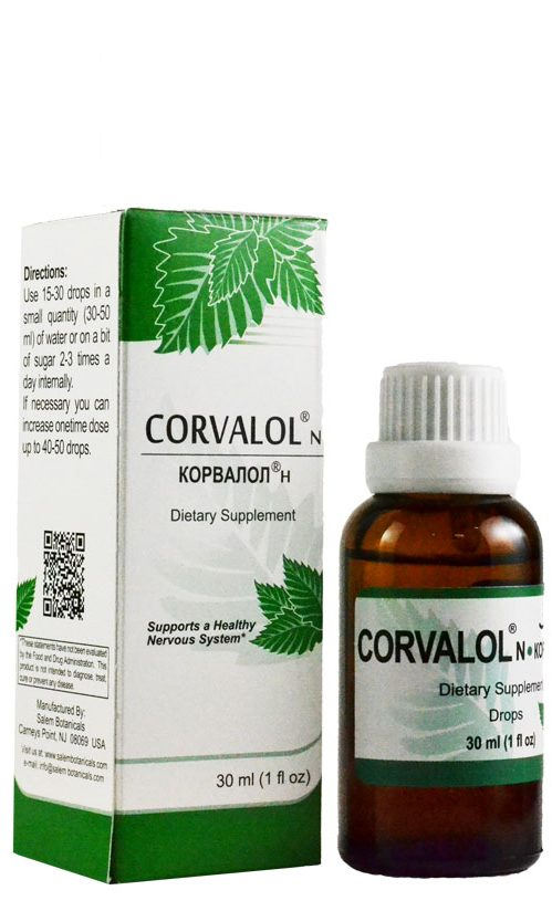 Corvalol N Drops Liquid Extracts