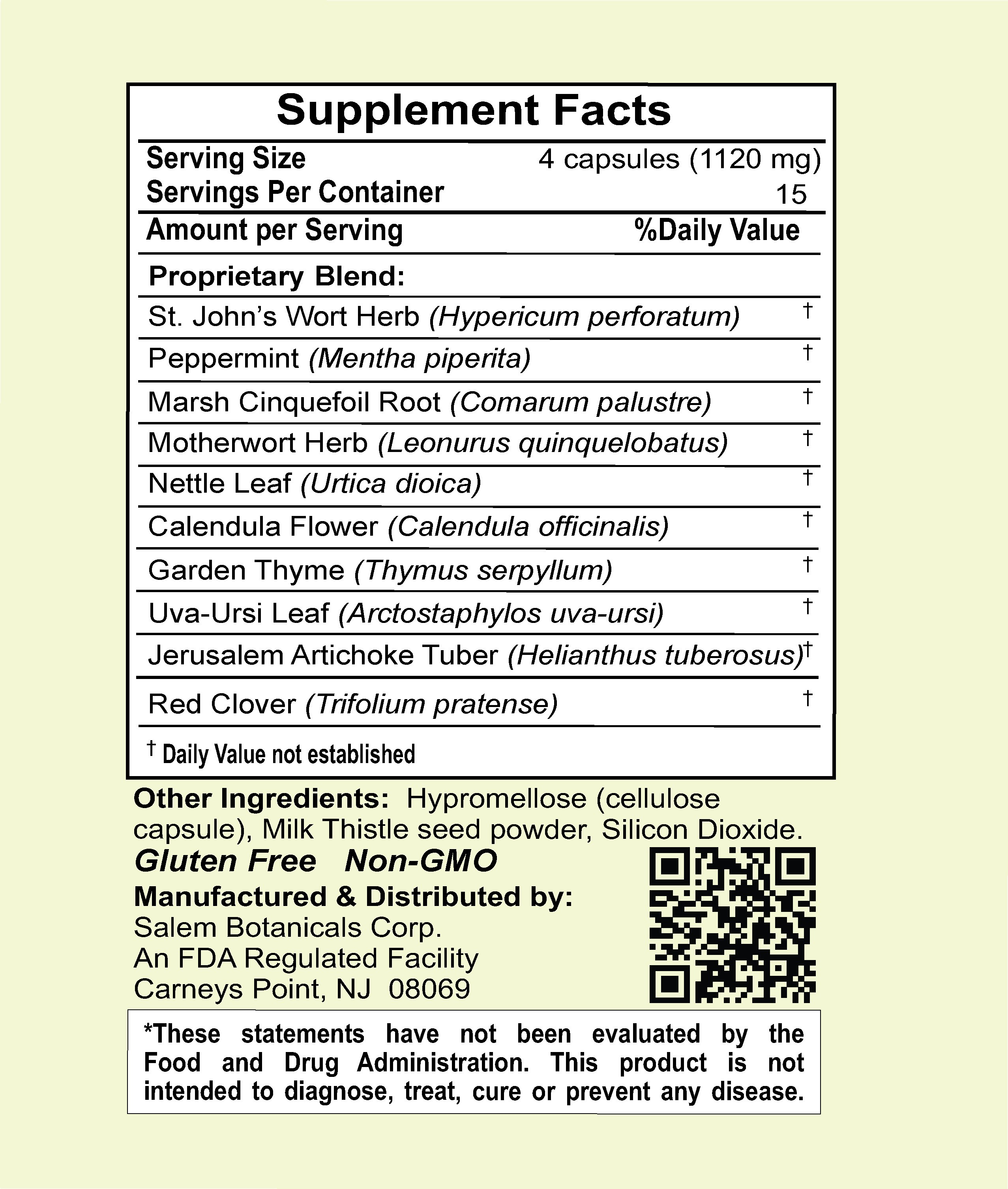 Gyne Defense Capsules Dietary Supplements