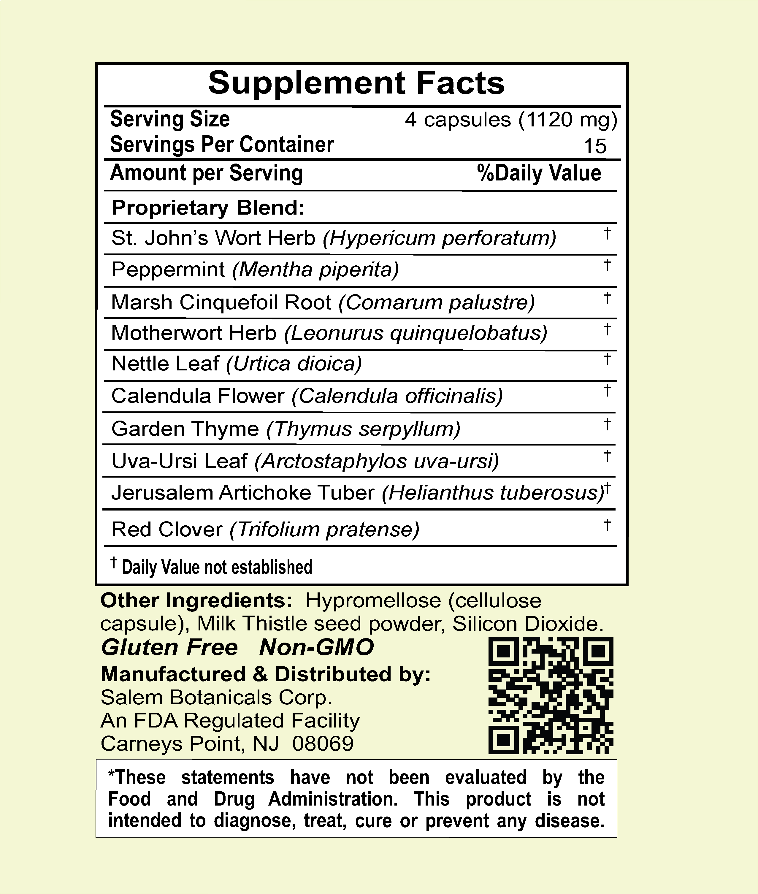 Gyno Defense Dietary Supplements