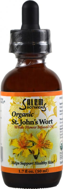 Organic Infused St. John's Wort Oil Flower Oil