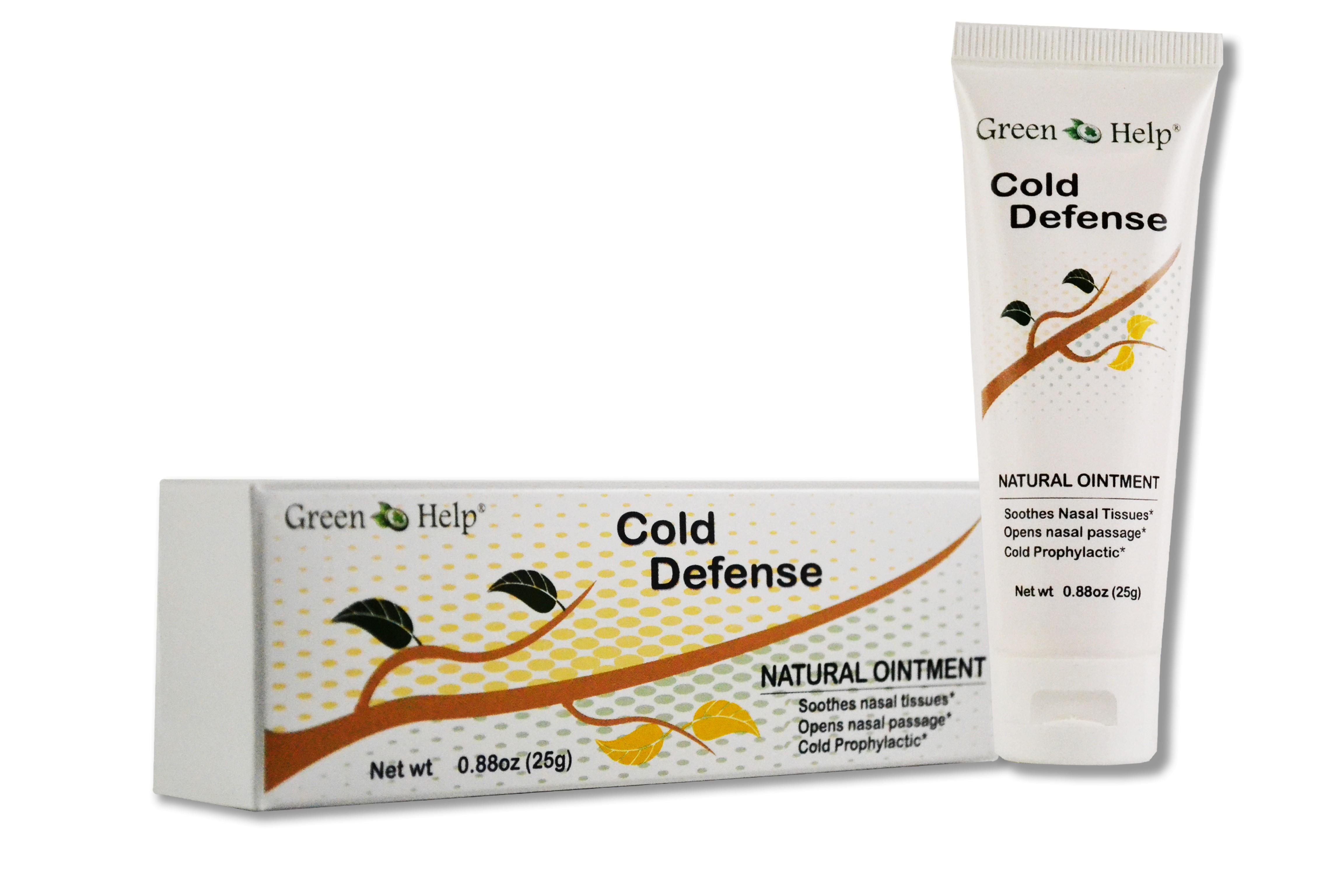 Cold Defense Cream 1.8 oz (25 gr) Green Help