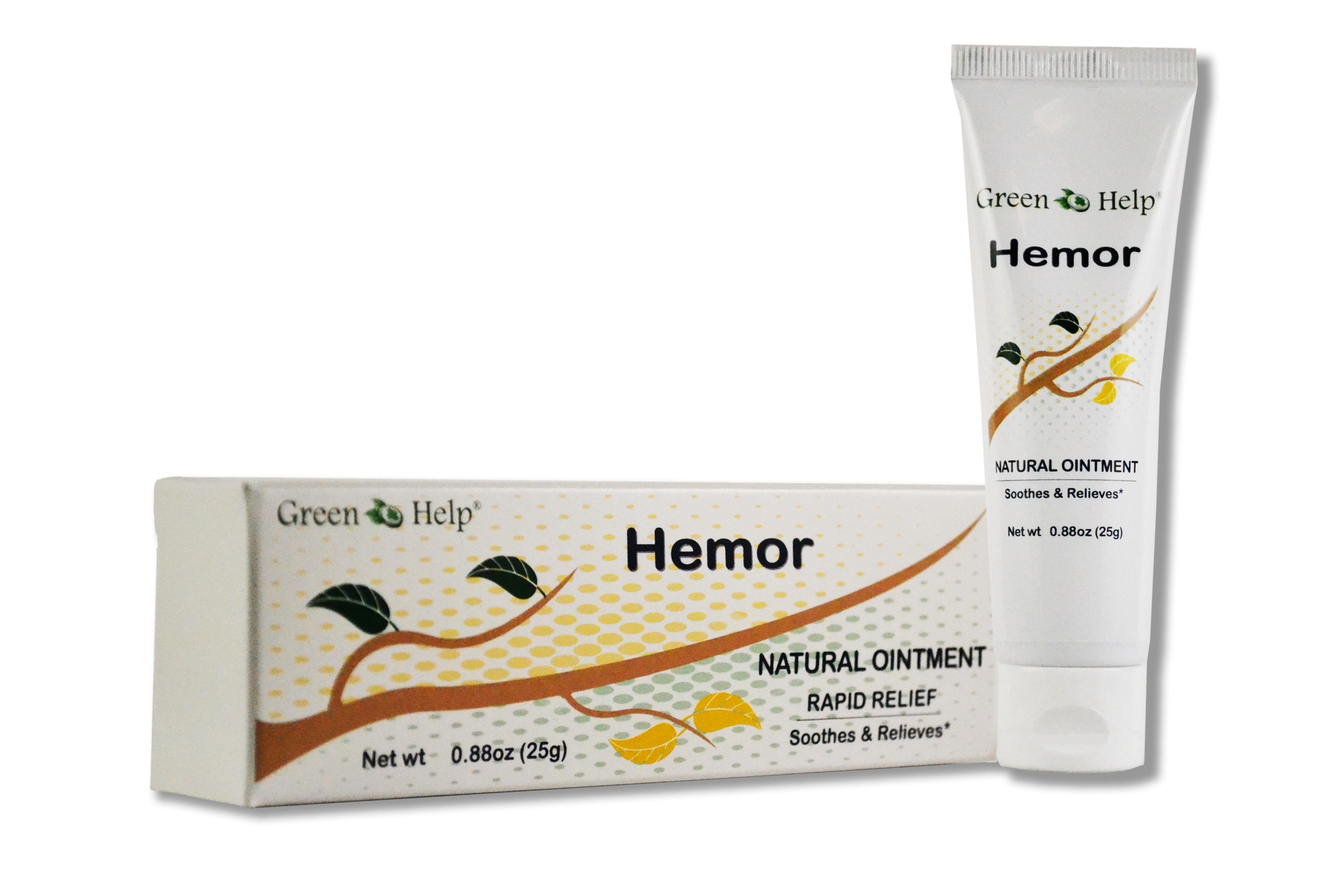 Hemor Cream 1.8 oz (25 gr) Green Help