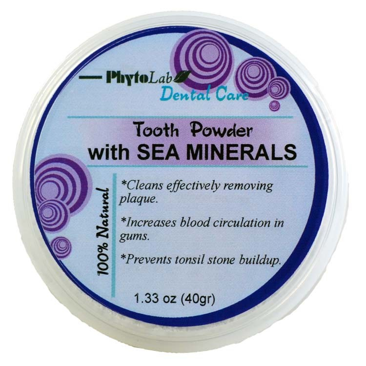 Sea Mineral Tooth Powder
