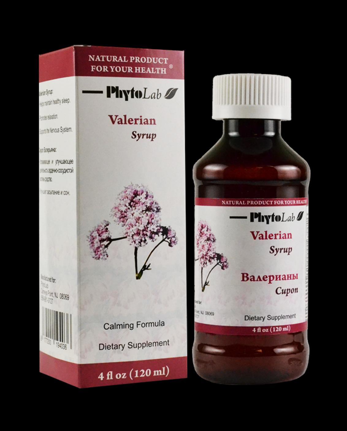 Valerian Syrup Herbal Syrups