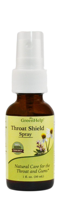 Throat Shield Spray Green Help