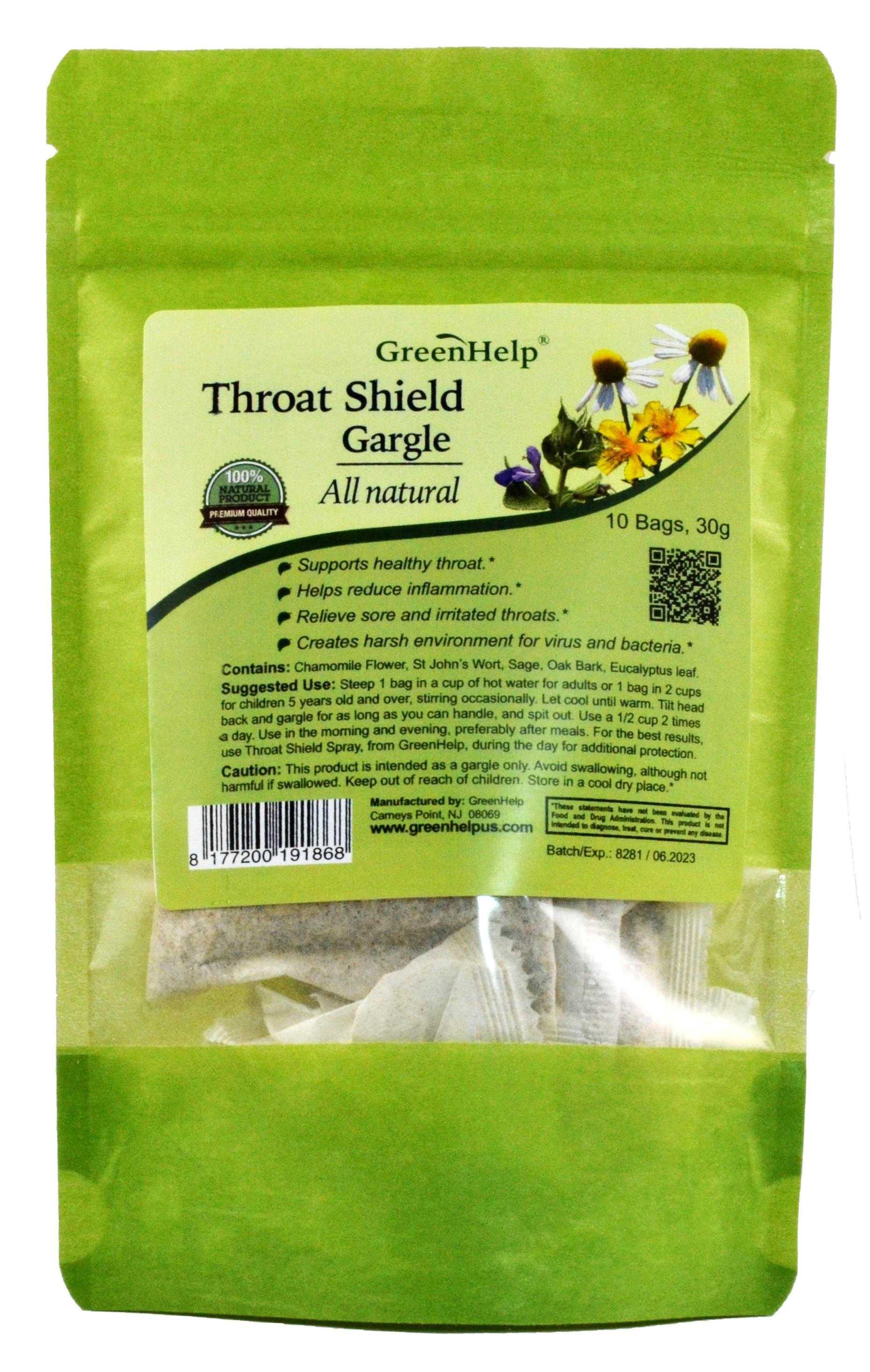 Throat Defense Gargle Tea bags Bagged Tea