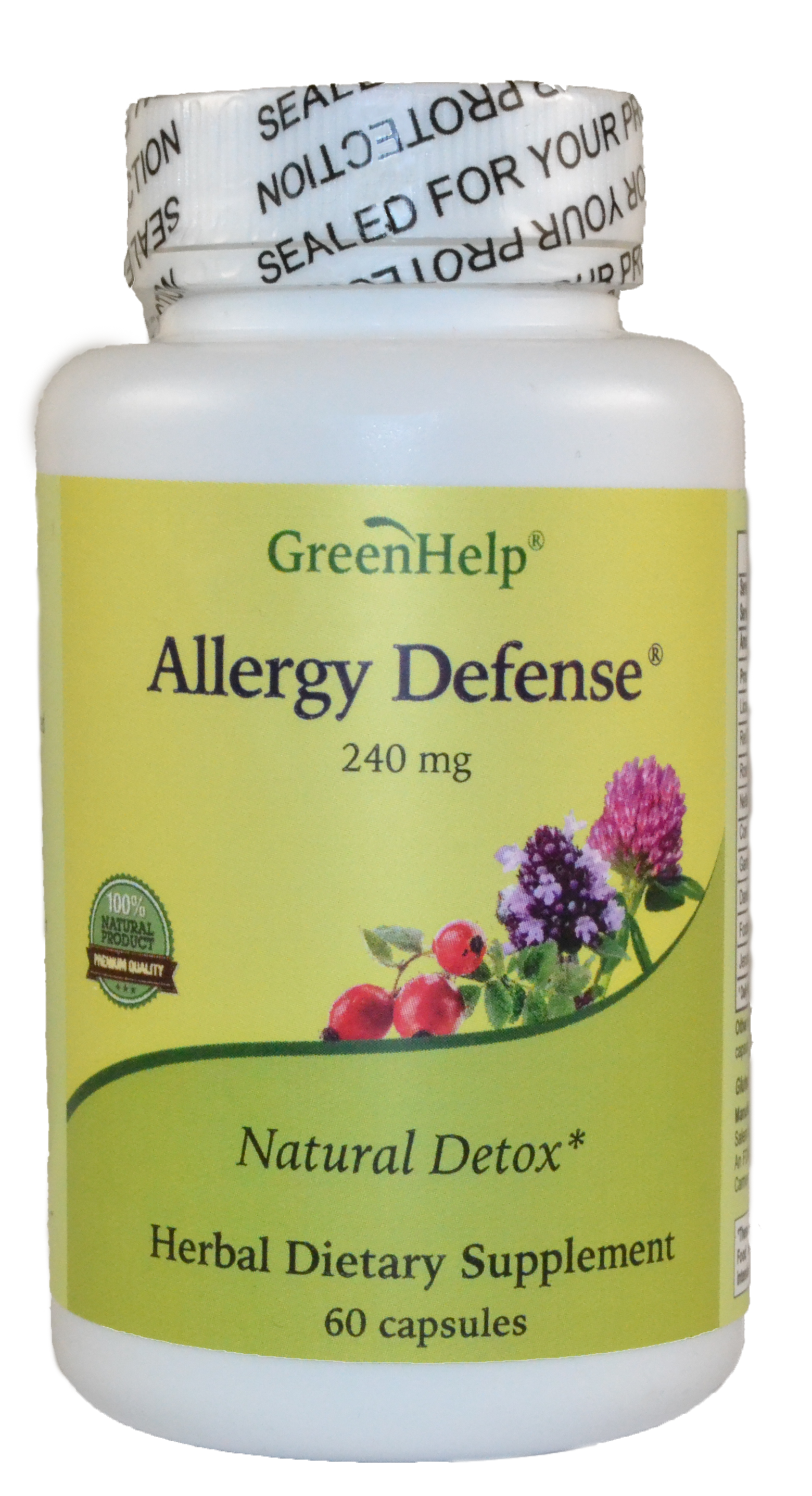 Allergy Defense Dietary Supplements