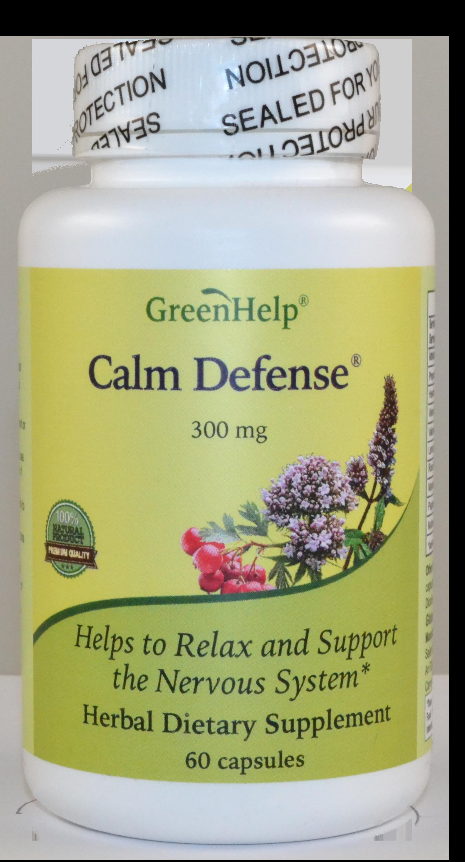 Calm Defense Dietary Supplements