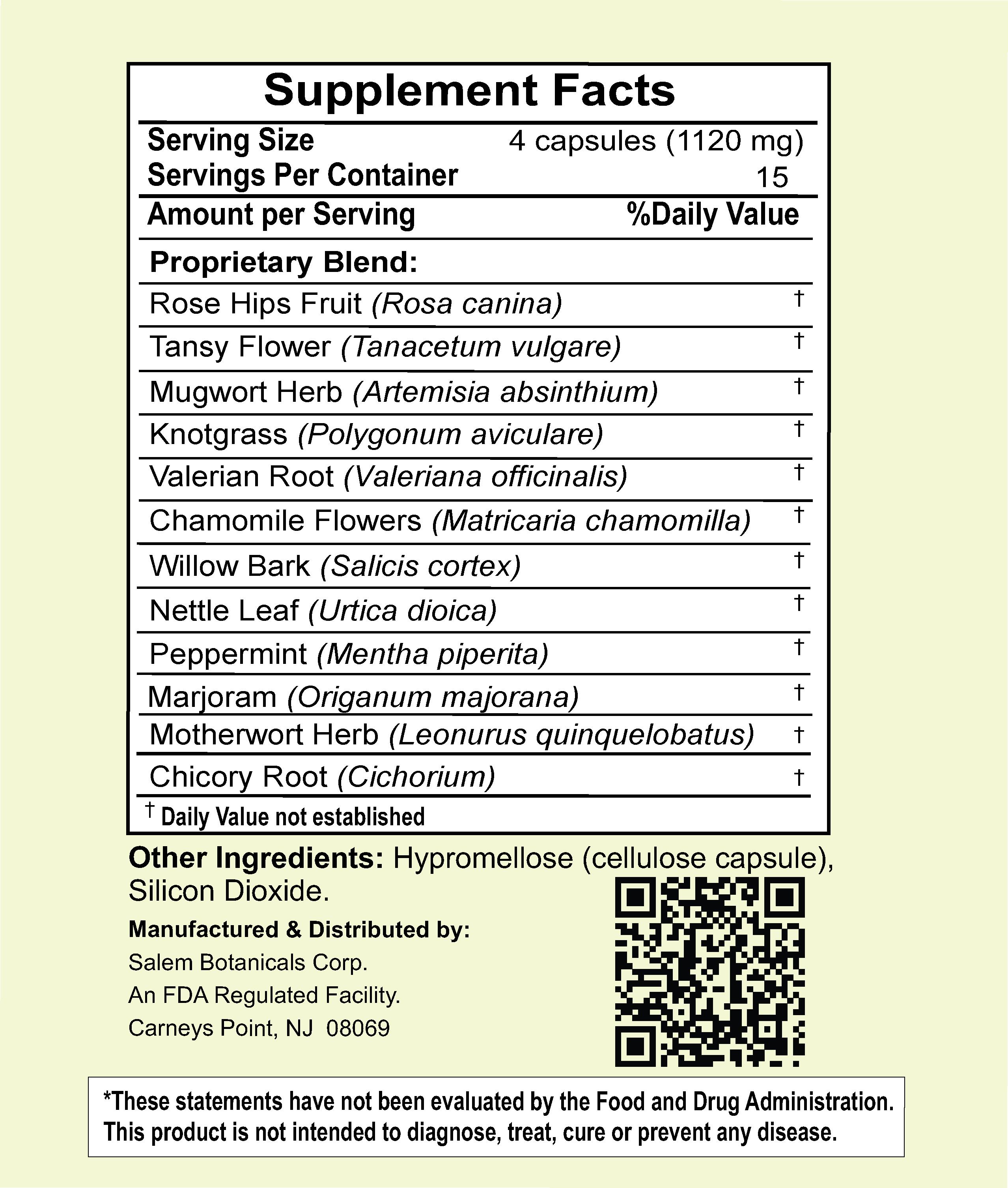 Green Help Immune Defense Capsules Dietary Supplements