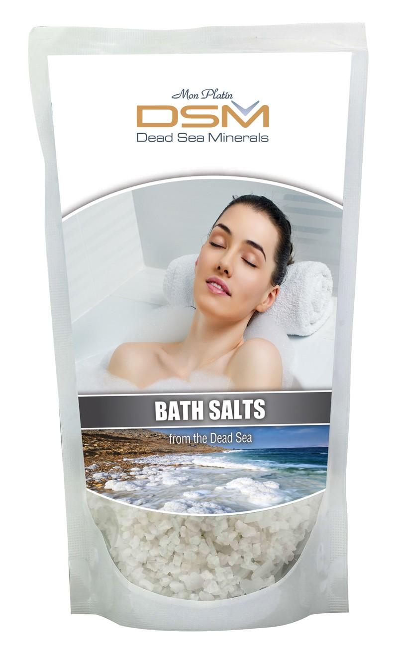 Bath salt plastic bag DSM