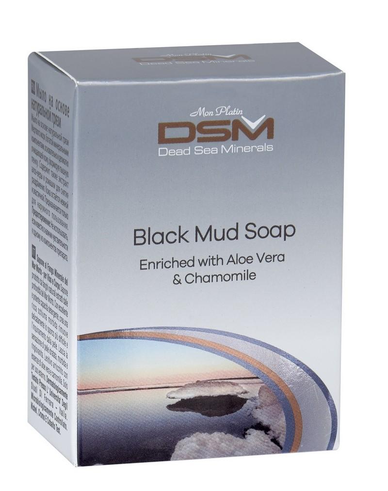Black Mud Soap Enriched with Aloe Vera & Chamomile DSM