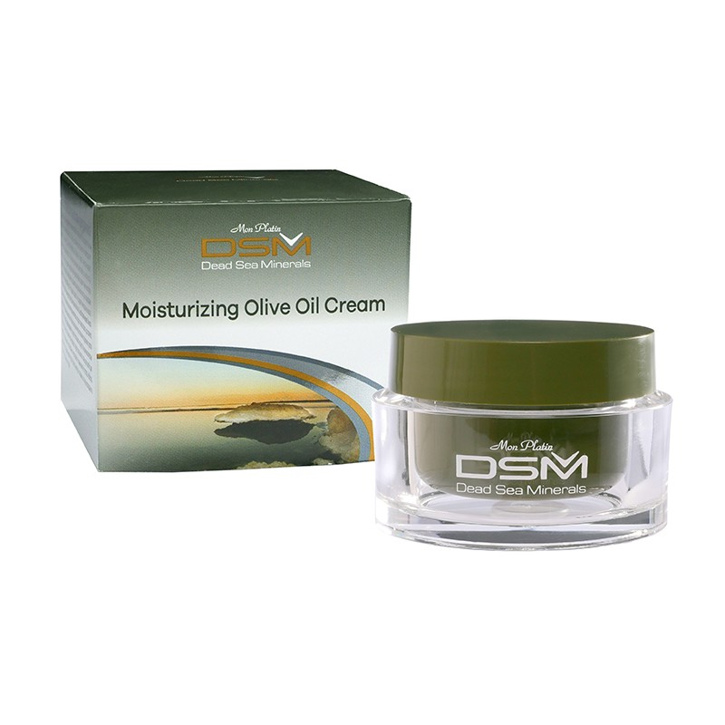 Moisturizing olive oil cream DSM